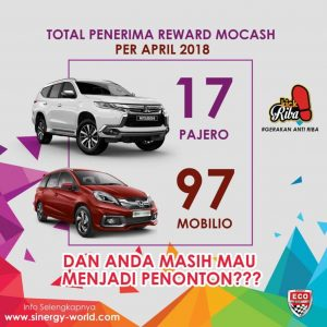 Penerima reward eco racing